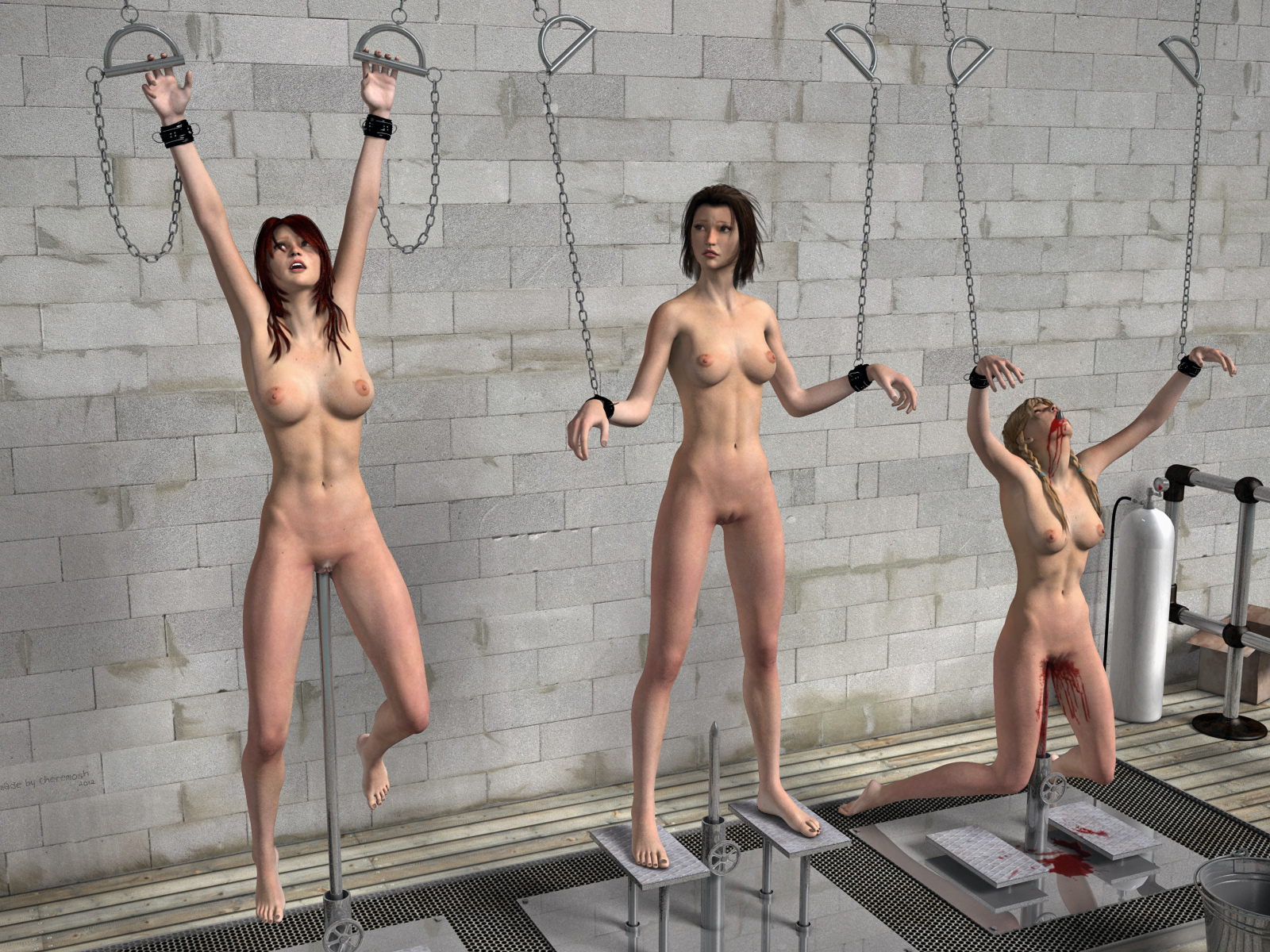 Erotic guillotine 3d nudes photos