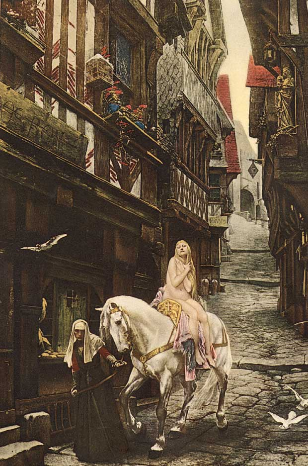 how does tennyson tell the story of godiva Tennyson - the lady of shalott of part ii tell what the lady knows, and what she does not know (until it excellent modern prose version of the story of.